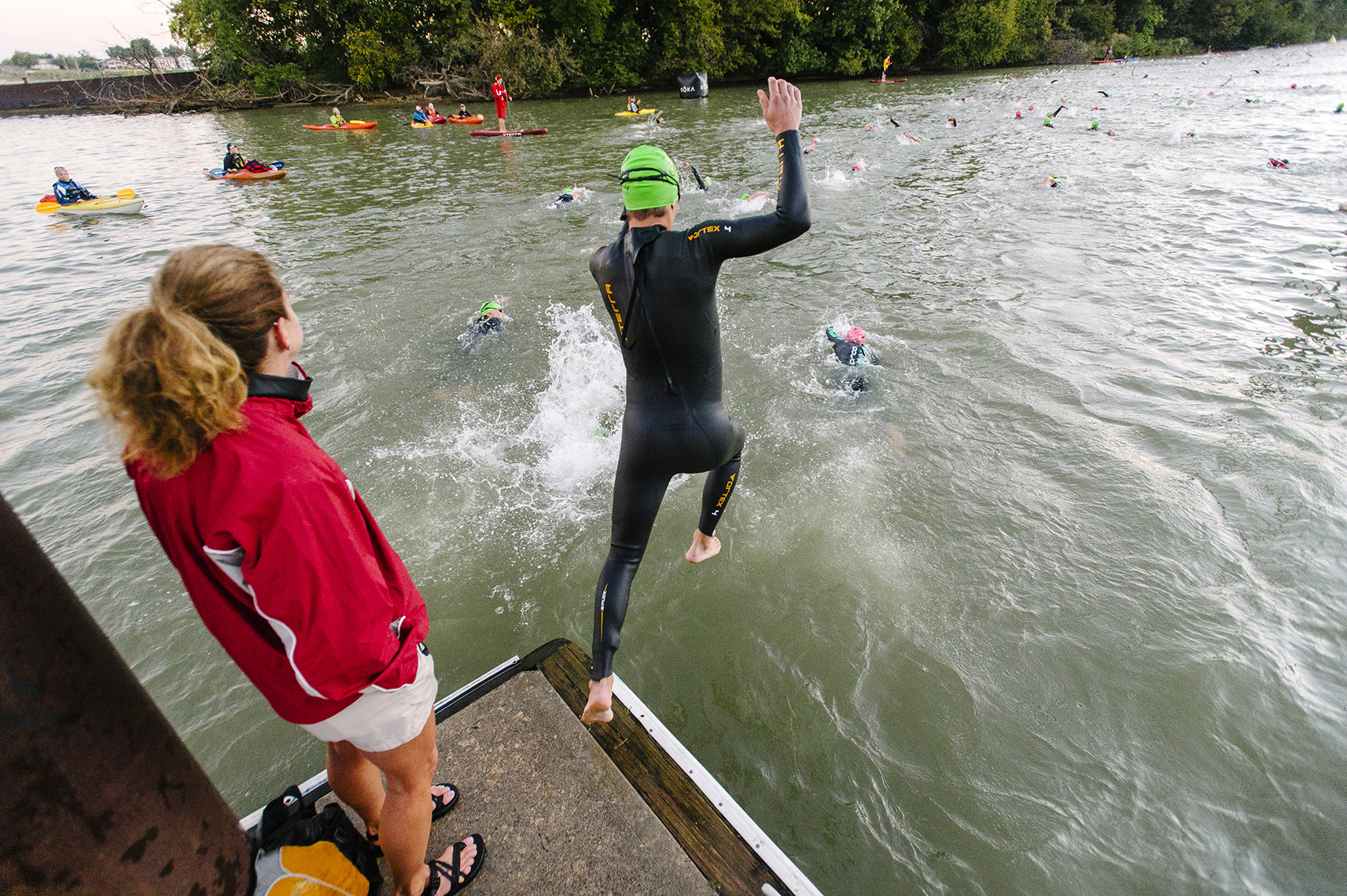 swim-start-louisville-ironman